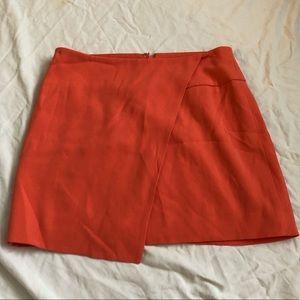 Orange Bebe Skirt 0